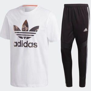Adidas set large for men